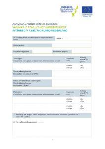 thumbnail of Aanvraagformulier 1000 EUR