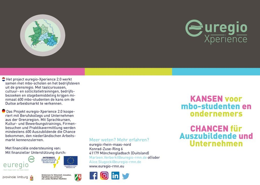 thumbnail of Flyer euregio-Xperience